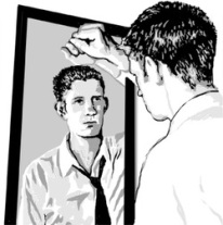 Image result for man in the mirror